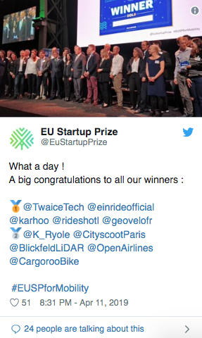 european startup prize commission